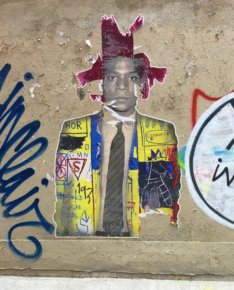 Basquiat Street Art Photo image 0