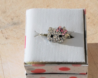 1ef60d173 Hello Kitty Ring Adjustable