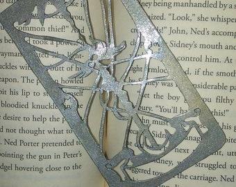 Metal CardCaptor Sakura Clow Card Bookmark, 2D Metal Cosplay Prop, The Sword