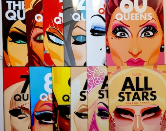 The QUEENS COLLECTION - Full Book Set!