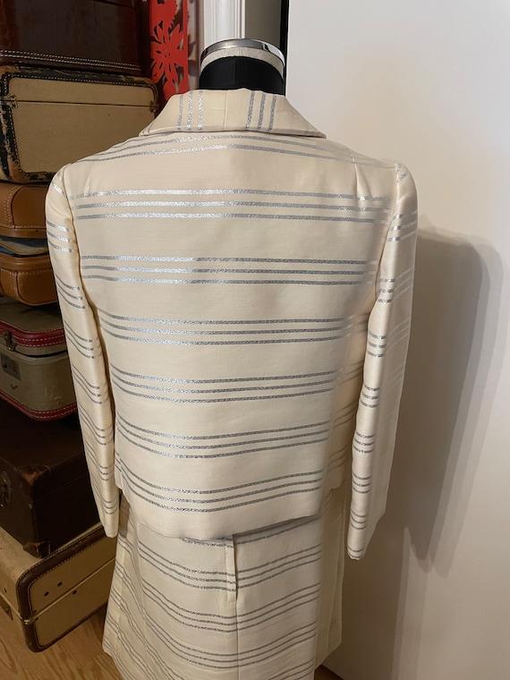 I  Magnin 1960s Dress and Jacket - image 3