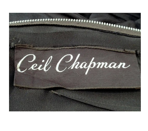 Ceil Chapman 1950's Wiggle Dress - image 4