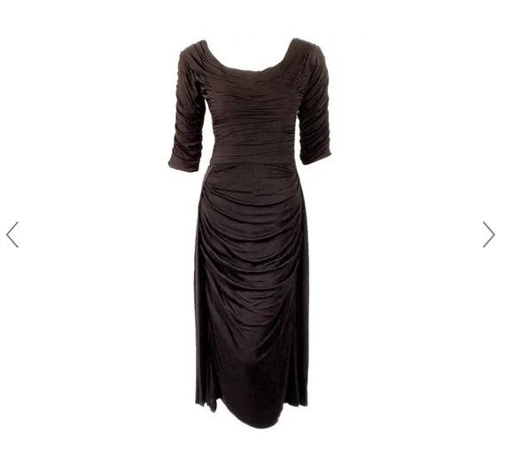 Ceil Chapman 1950's Wiggle Dress - image 2