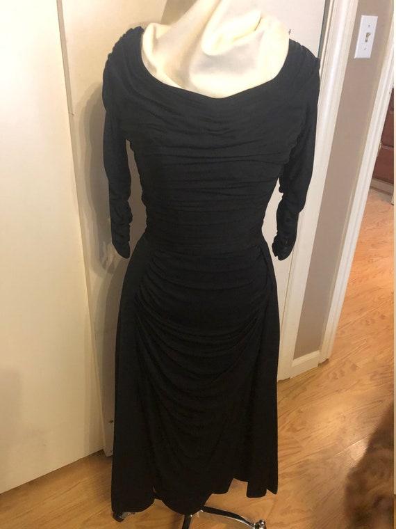 Ceil Chapman 1950's Wiggle Dress - image 7