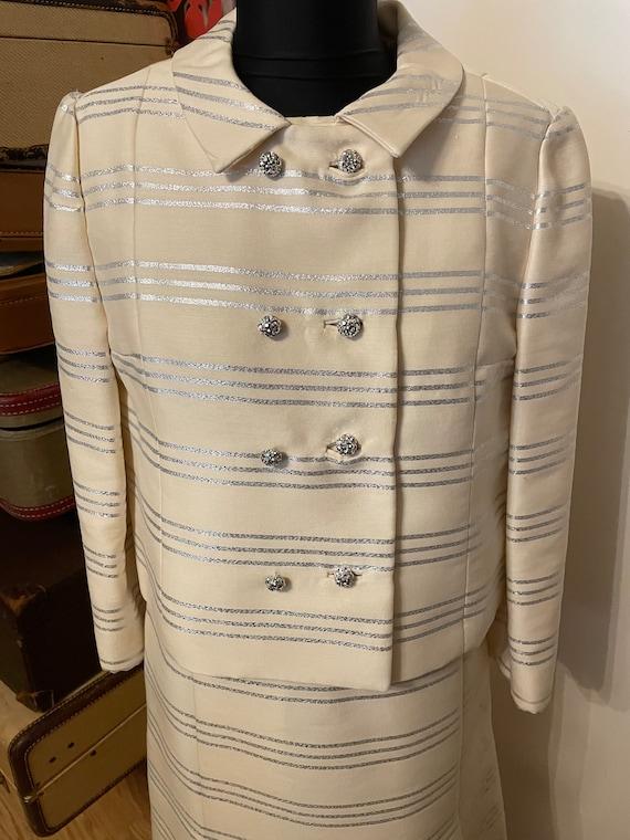 I  Magnin 1960s Dress and Jacket - image 2