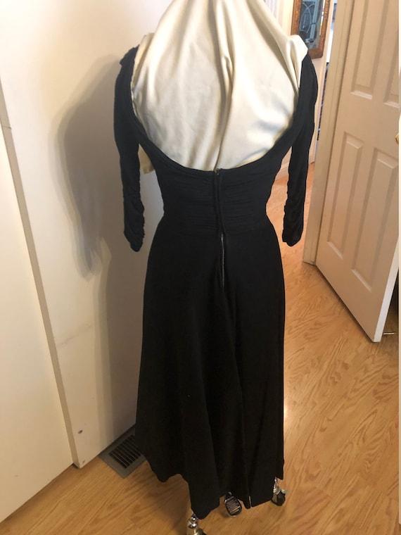 Ceil Chapman 1950's Wiggle Dress - image 9