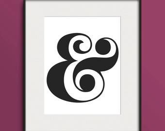 Ampersand Artwork Poster