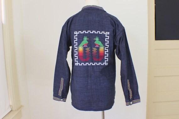 Embroidered Summer Blazer / Women's Southwest Stit