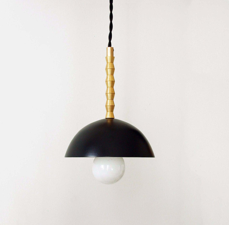 Black gold modern pendant light modern ceiling lighting black pendant brass lighting modern black lamp bedroom lights entry lighting