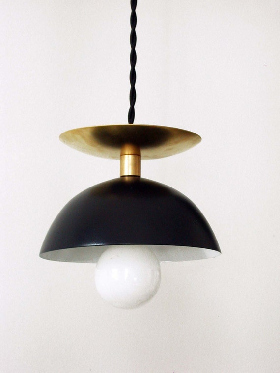 Awesome Black Brass Modern Pendant Lamp Entryway Mid Century Light Black Pendant Black Ceiling Lighting Kitchen Light Foyer Light Bedroom Lighting Interior Design Ideas Truasarkarijobsexamcom