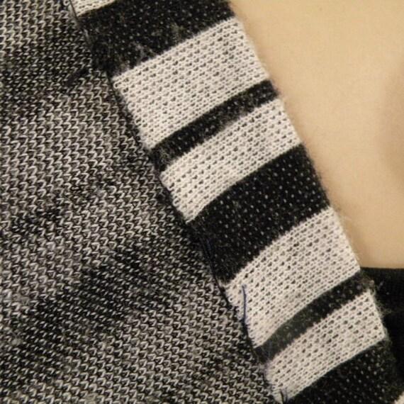 Rudi Gernreich Black and White Stripes Maxi Dress… - image 4