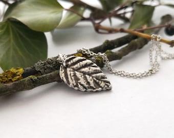 Roses Leaf + Your Fingerprint Jewelry
