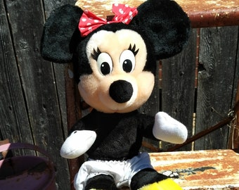 Vintage Minnie Mouse Stuffed Animal