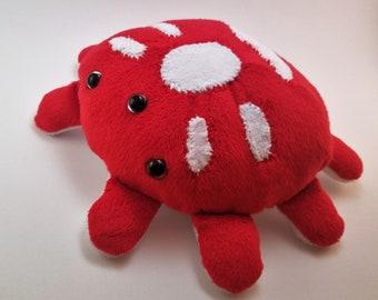 Angrypider handmade plush