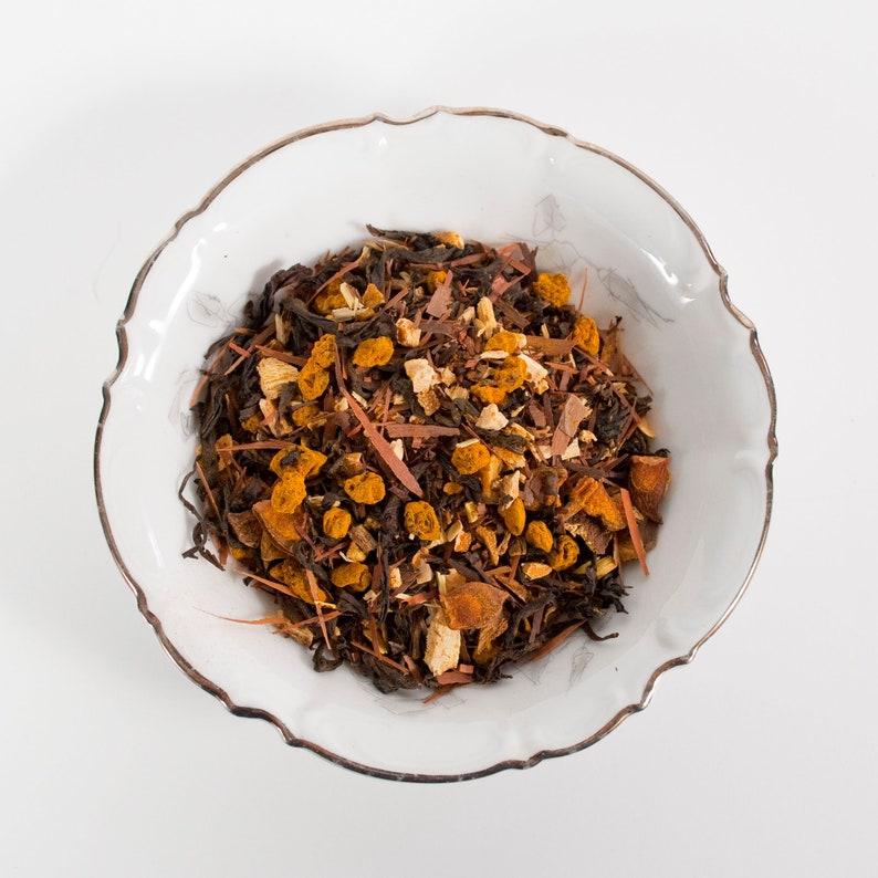 Love Your Guts Tea  Organic Tea Oolong  Loose Tea Turmeric image 0