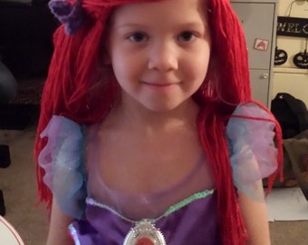 Ariel like Wig/Beanie