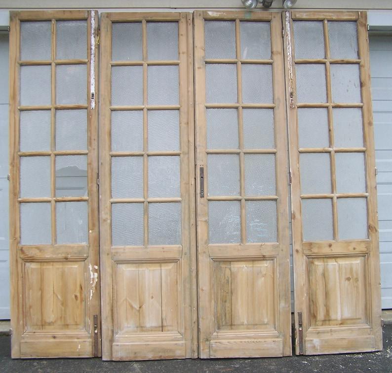 Tall rustic vintage doors