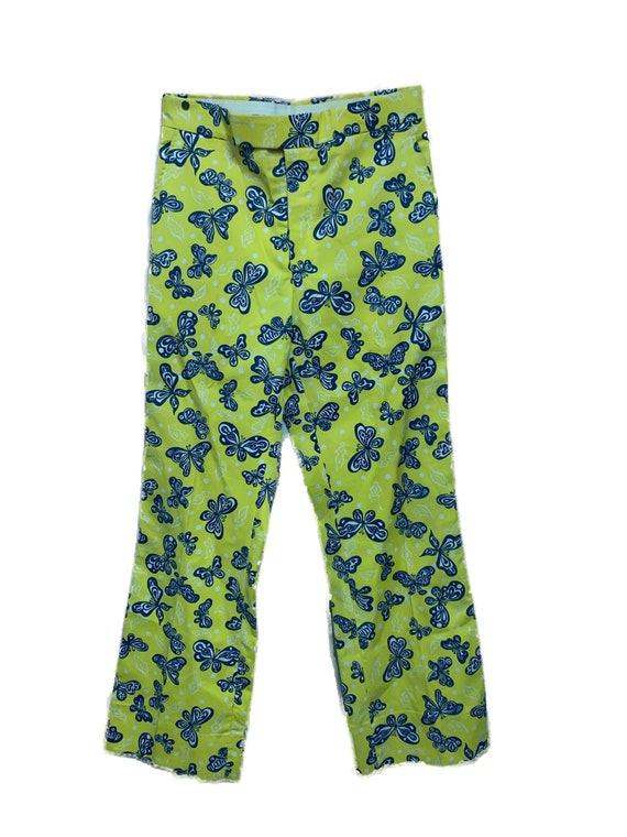 Lilly Pulitzer 1960s Men's Stuff Butterfly Print P