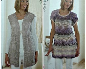 72dc762bf Girls Knitting Pattern K3749 Girls Long Sleeve Scoop neck