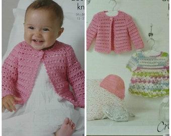ff3004e909d55f Baby Crochet Pattern C3479 Crochet Pattern Babies 4 Jackets