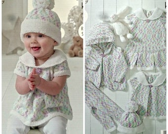 2b71a926f Baby Knitting Pattern K4897 Baby s Hoodie