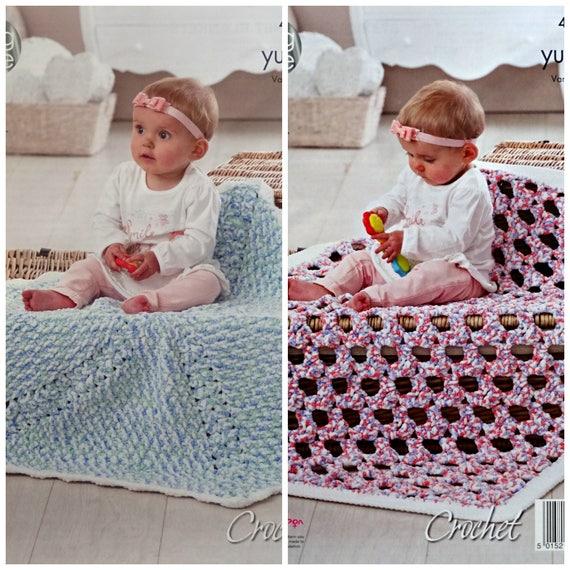 Baby häkeln Muster C4678 Babys einfach häkeln rund oder | Etsy