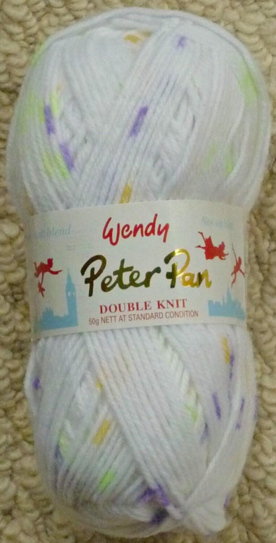 Knitting Wool 50g Peter Pan Baby Prints Double Knitting Knitting Wool Yarn