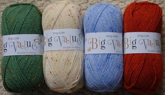 King Cole Boys Sweaters Wicked Knitting Pattern 3407 DK
