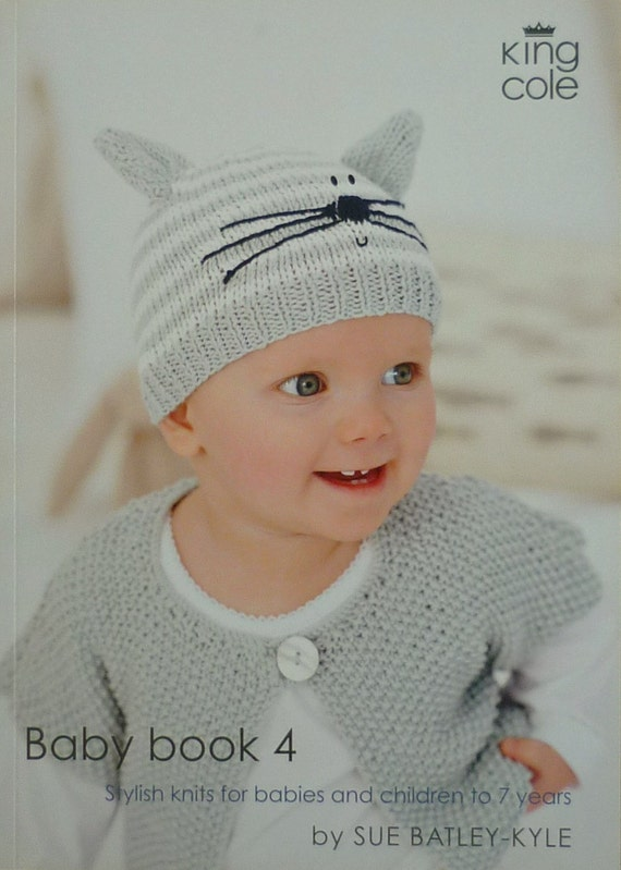 Pattern Book Baby Book 4 Knitting Book Knitting Pattern Dk Etsy