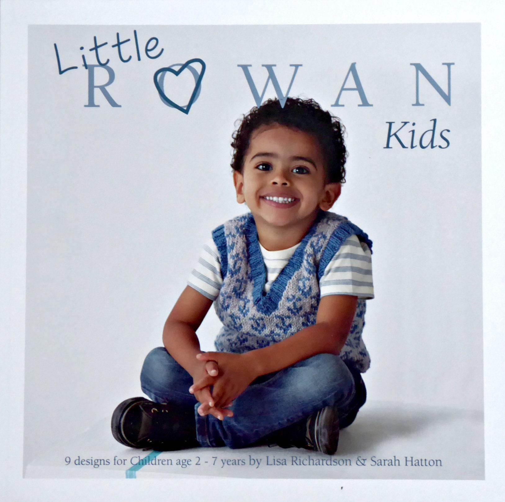 Boys Girls Knitting Pattern Book Rowan Little Rowan Kids Pattern