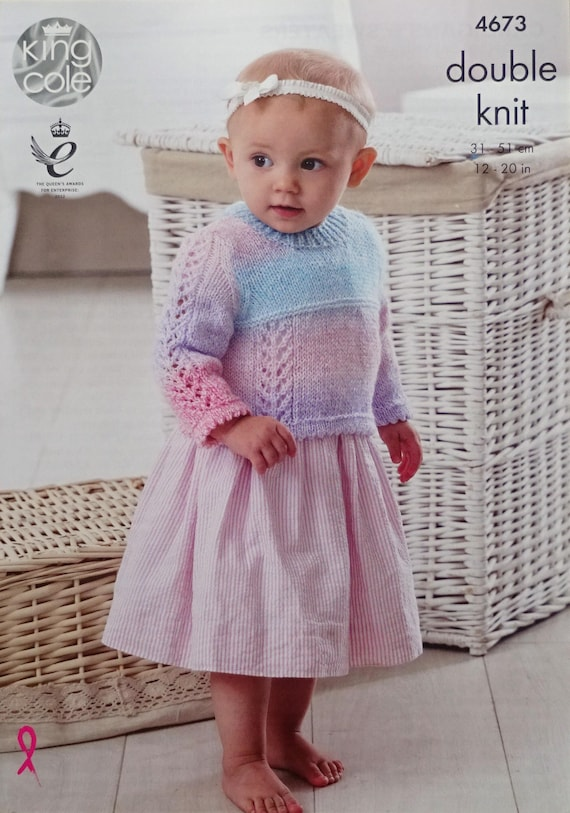 2c253950a70b Baby Knitting Pattern K4673 Baby s Picot Edge Lace Panel