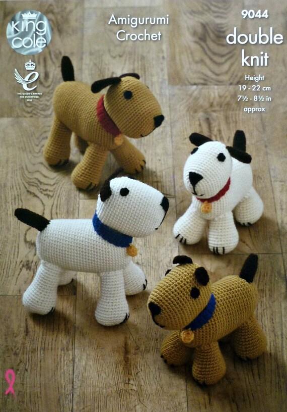 Spielzeug häkeln Muster K9044 Hundespielzeug Hunde Amigurumi | Etsy