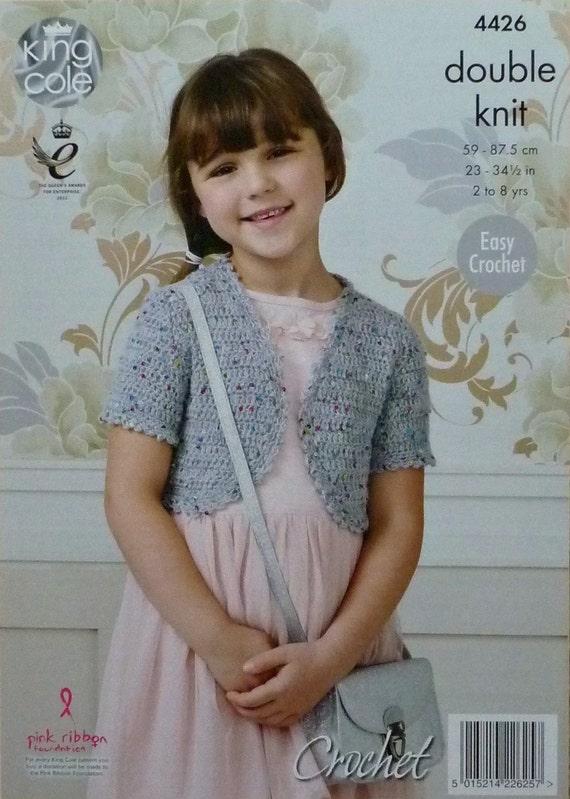 Mädchen häkeln Muster C4426 häkeln Muster Kinder einfach kurze