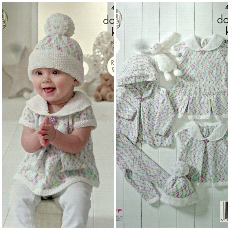 7902e683c43b Baby Knitting Pattern K4897 Baby s Hoodie Hat Leggings