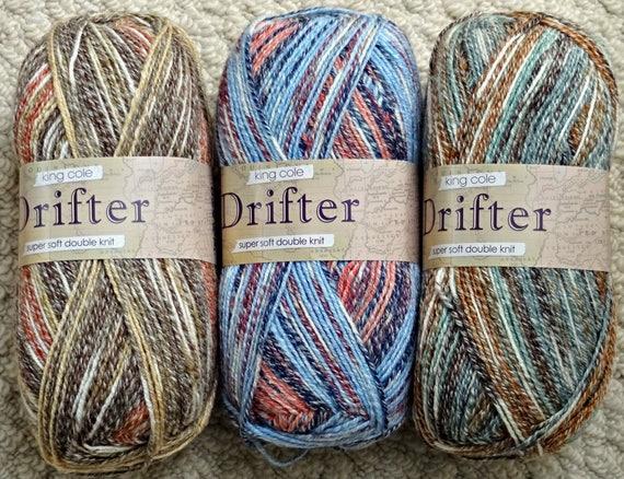 King Cole Ladies Cardigan /& Waistcoat Drifter Knitting Pattern 4855 DK ...