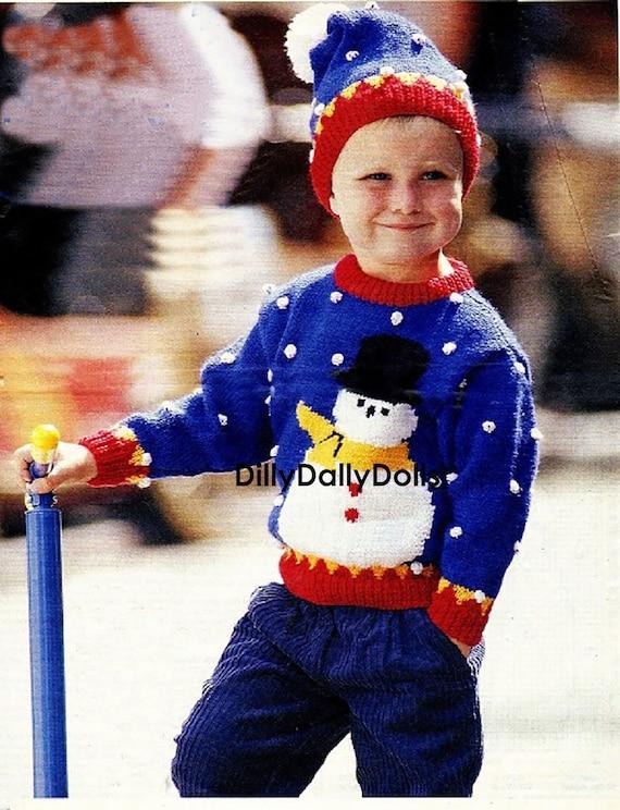 PDF Knit Children Sweater VII