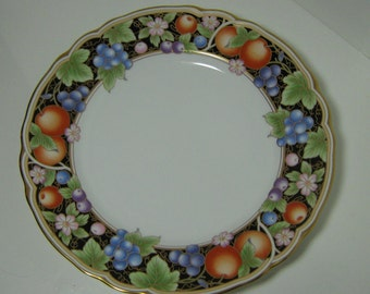"Vintage Salad Plate Noritake China Pattern #4307 La Madeleine 8 3/8"" Diameter Plate Discontinued Pattern"