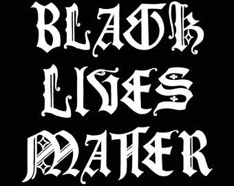 Black Lives Matter // 8.5 x 11 inch Digital Download