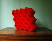 Copco Honeycomb Spice Rack - Mid Century Modern Spice Rack Wall Mount