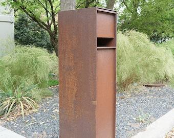 Overland Steel Mailbox - Curbside Modern Metal Letter Box