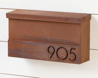 The Hyde Park Mailbox - Custom - Steel Modern Metal Letter Box