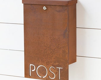 The Andover Mailbox - Classic - Steel Modern Metal Letter Box