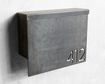 The Gibson Mailbox - Custom - Steel Modern Metal Letter Box