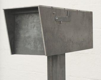 The Dexter Mailbox - Steel Modern Metal Letter Box