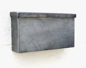The Hyde Park Mailbox - Steel Modern Metal Letter Box