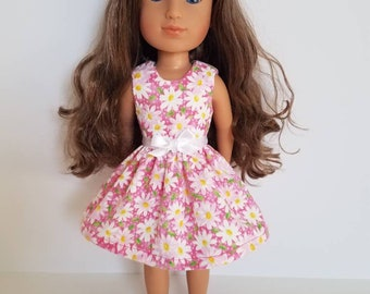 14 Inch Doll Dress: Daisy Delight