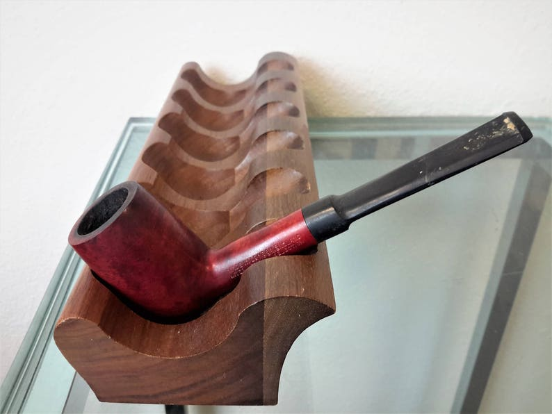 Tobacco Pipe Collectible Ware Hand Made London England Briarwood Smoking Pipe Tobacciana Stand Not Included