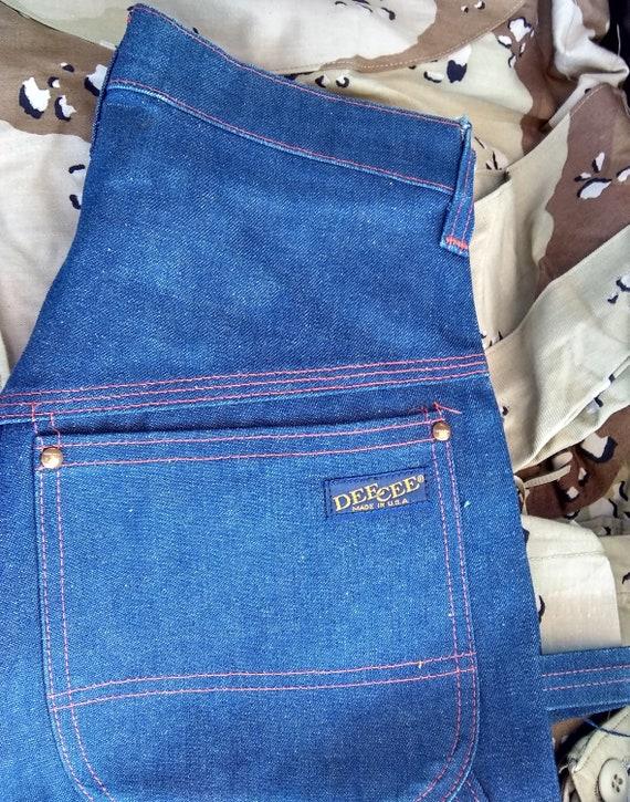 High Waist Made USA Dee Cee vintage blue jeans 28