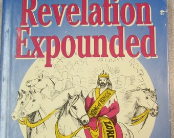 Christian books Revelation Commentary Finis Jennings Dake Hardcover dust jacket Prophecy Book of Revelation Bible Commentary End Times