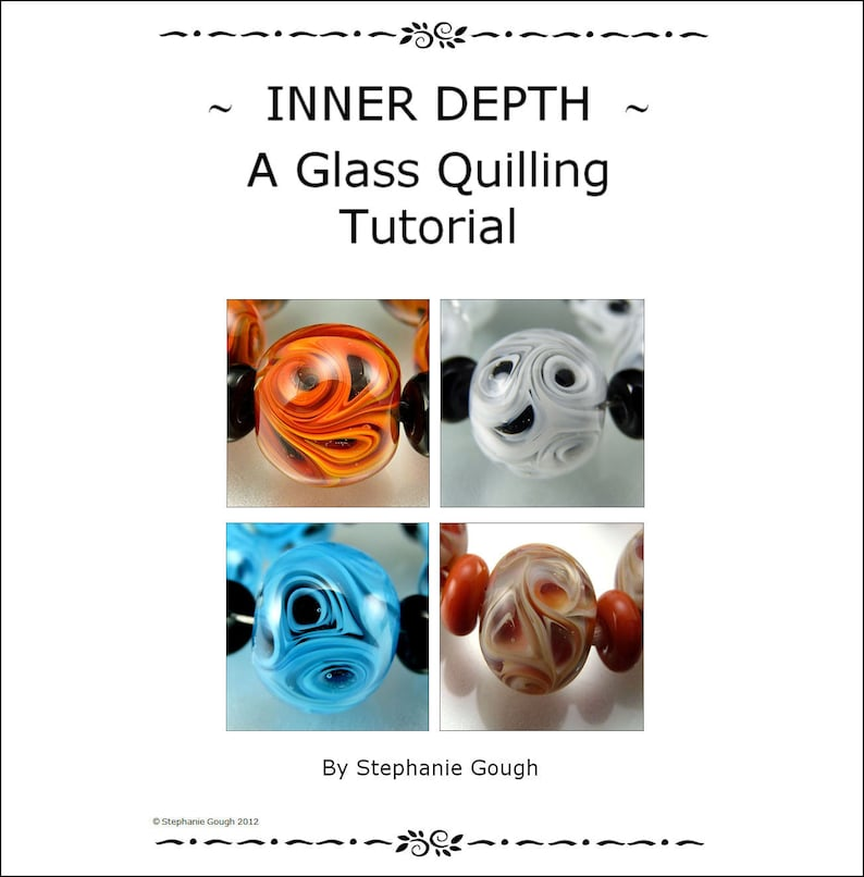 INNER DEPTH  A Glass Quilling Tutorial by Stephanie Gough sra image 0